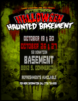Halloween Haunted Basemenet by Krazoom