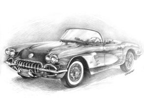 Chevrolet Corvette '58 by Sandersk