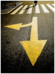 .straight or curve? by bizarrismo