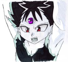 My Best Hiei Art EVER by TheBulletAlchemist
