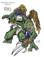RX5 by scabrouspencil