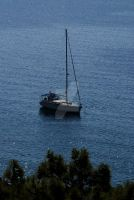 The Sailing Boat by Mcnicky