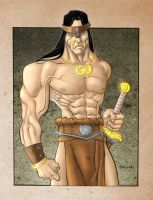 Conan the Barbarian by GavinMichelli