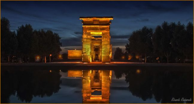 Temple of Debod by AcidPanther