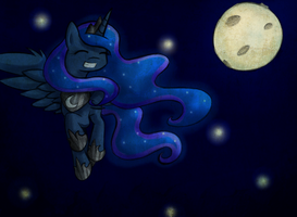 No longer in the moon... Luna by AviAlexis25