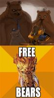 Larfleeze and the Three Bears by SIRCollection