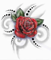 roses and tribals by primitive-art