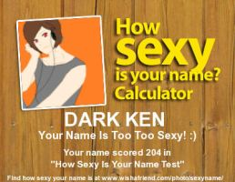 TSS OC - how sexy is Dark ken by moonofheaven1