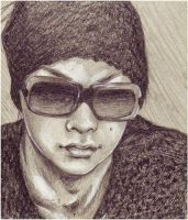 tatsuro with sunglasses by sushihase