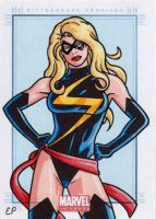 Ms Marvel MU by ElainePerna