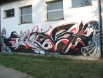Grafitti on Italian school by BLacKIe-dARkcHIld