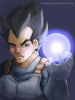 Vegeta by SteveMillersArt