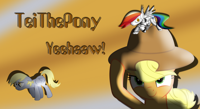 Fan Coverart - TeiThePony Yeehaaw! by illusion115