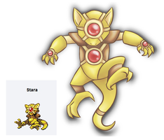PokeFusion - Stara by ThatWildMary