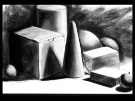 Charcoal Value Study by teutelquessir
