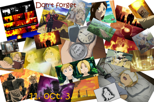 FMA day - Don't forget 3. oct. 11. by HaGaNeCHiD