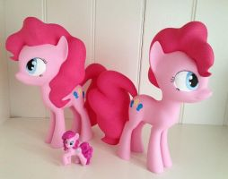 My little Pony FIM Pinkie Pie 3D Print Figure by Asukatze