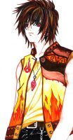 heero colour by marker by JBeanSV