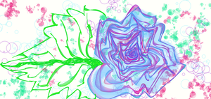 Rose Abstraction by KarmicCircle