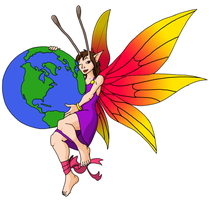 Faerie tattoo design by coyotepack