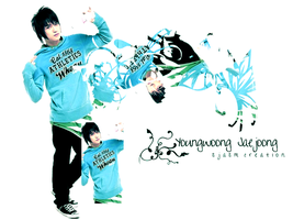 Youngwoong JaeJoong by jasmiineex