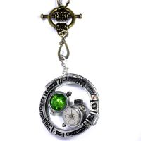 Steampunk Jewelry pendant by CatherinetteRings