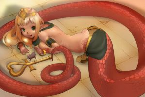 Lamia by Instant-Freak