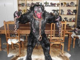 Werewolf costume ( Fursuit) by netheryl