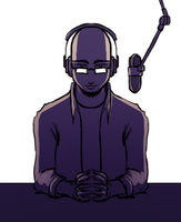 Late Night Radio Show Doodle by Imrooniel