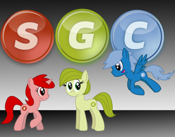 SGC Ponies by Sonic-chaos