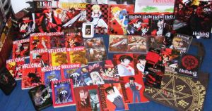 My Hellsing collection by TheKarelia