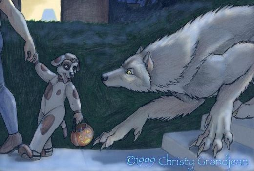 WOS: Trick?  Or Treat? by Goldenwolf