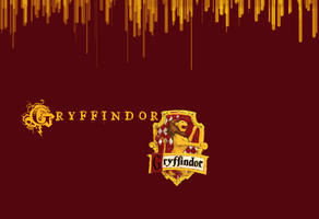 Gryffindor Wallpaper -w:logo- by Taylor-Magnificent
