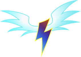 Wonderbolts Cutie Mark changed up by Sketchy1987
