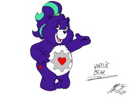 Care Bears - Wheelie Bear by MortenEng21