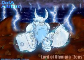 Zeus Lord of Olympia by KrlosKmask
