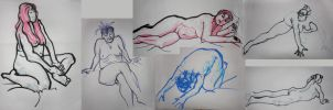 Life Drawing complitaion by object000