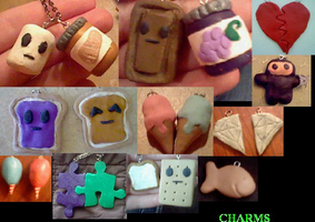 Charms by llalore