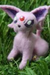 Needle Felted Pokemon by slanderratcrafts