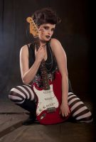 Rock chick stock 3 by A68Stock
