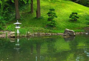 Japanese Garden 2 by AgiVega