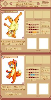 PMDUnity: Team Quick Strikers by browser-surfer14