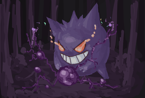 Gengar by TheAnson
