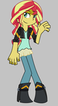 PASWG Sunset Shimmer by Imtailsthefoxfan