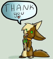 Thank you all by peckonthecheek