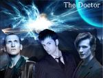 The three Doctors by Amrinalc