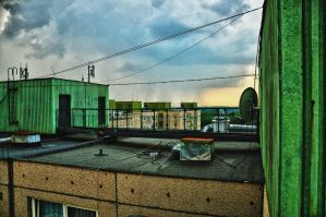 our roof HDR by Seth890603