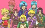 Golden Sun Super Stream by Pirrip