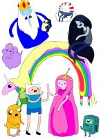 ADVENTURE TIME by sairinade