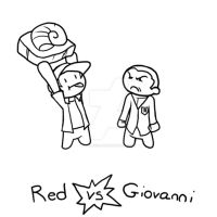 Twitch Plays Pokemon: Red vs Giovanni by ChibiNinja7